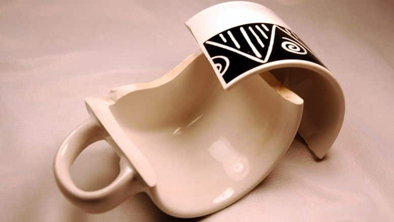 porcelaine cassee
