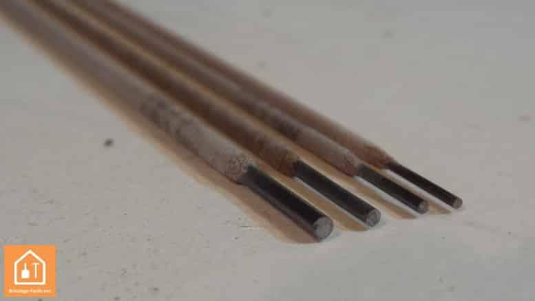 Poste à souder - électrodes