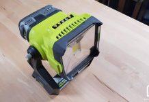 Projecteur de chantier sans fil Ryobi