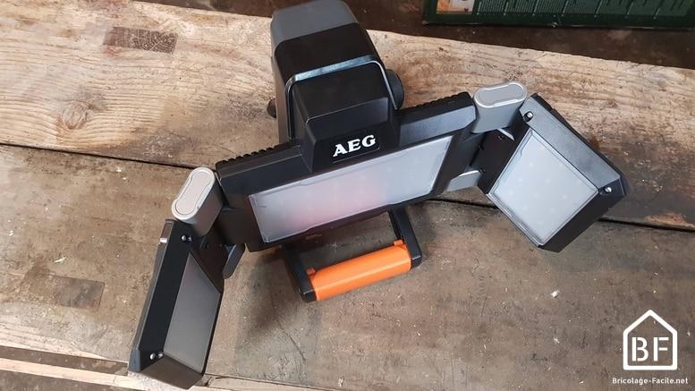 projecteur sans fil AEG
