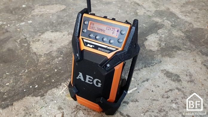 radio de chantier AEG BR 1218C
