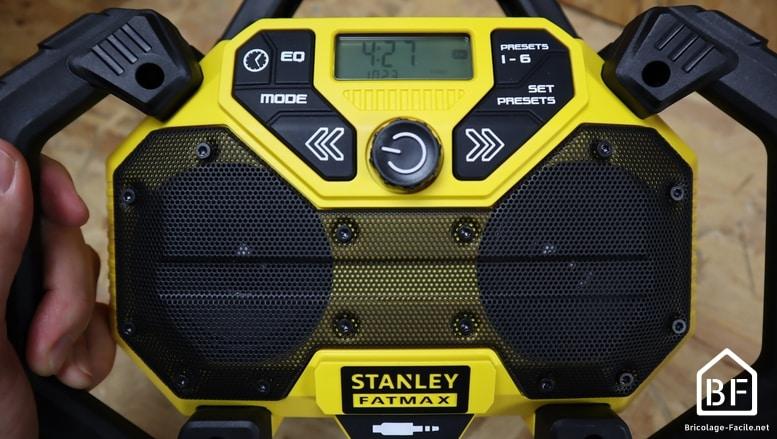 radio de chantier STANLEY FMCR001B