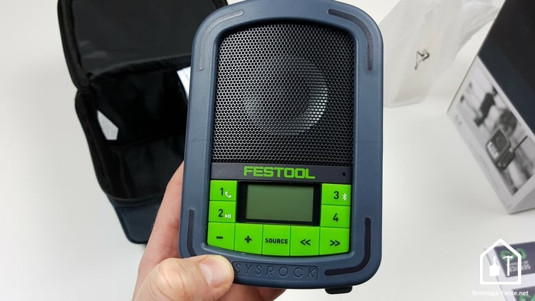 Radio de chantier Festool - protection