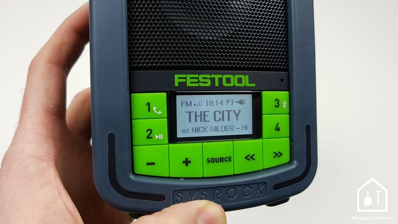 Radio de chantier Festool - RDS