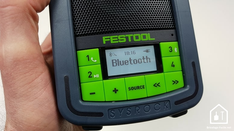 Radio de chantier Festool - Bluetooth