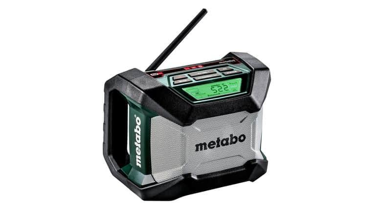 radio metabo sur fond blanc