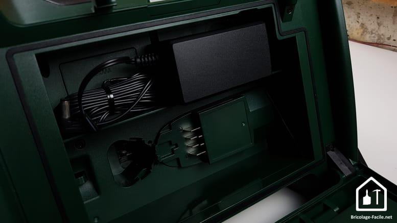 Radio sans fil PRA MultiPower de Bosch - compartiment arrière