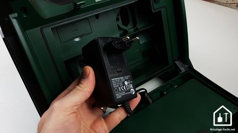 Radio sans fil PRA MultiPower de Bosch - adaptateur secteur
