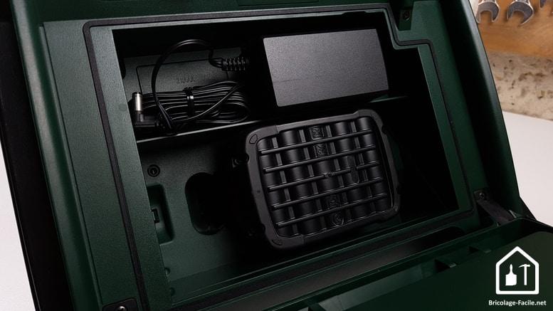 Radio sans fil PRA MultiPower de Bosch - batterie installée