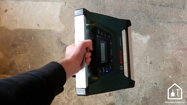 Radio sans fil PRA MultiPower de Bosch - poignée