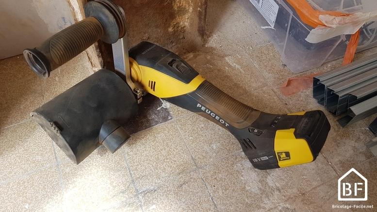 rénovateur Peugeot EnergyBrush-18VBL 18V