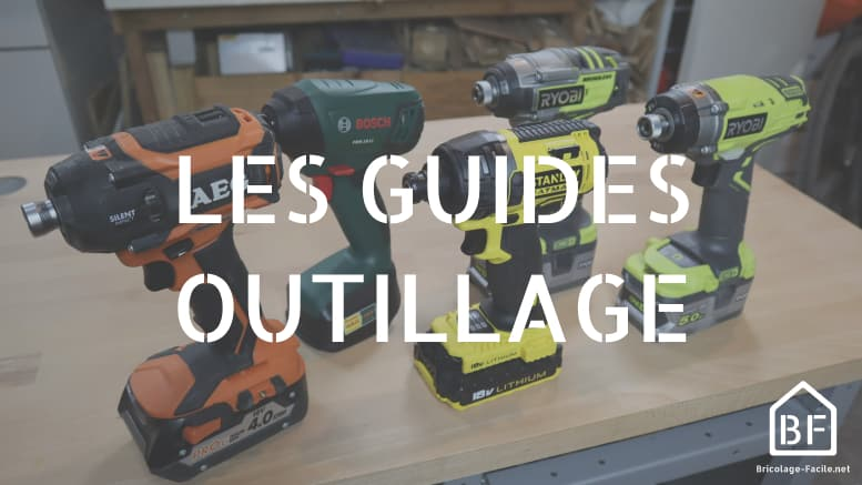 Guides outillage
