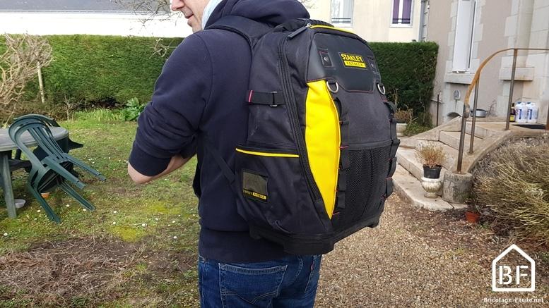 sac à dos porté