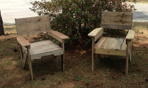 id es d co des salons de jardin en bois de palettes bricolage facile. Black Bedroom Furniture Sets. Home Design Ideas