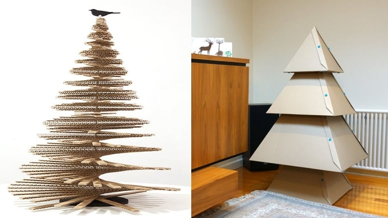 sapin en carton 5 diy pour noel avec les enfants. Black Bedroom Furniture Sets. Home Design Ideas
