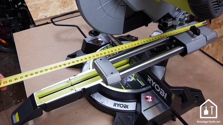 Scie à onglet radiale 2000 W de Ryobi -