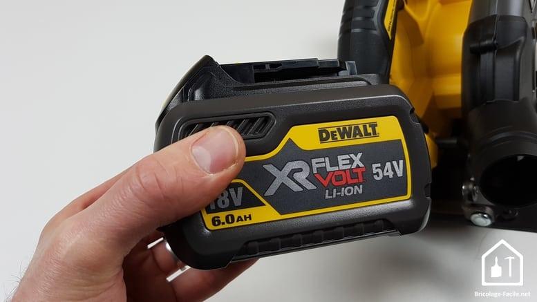 Scie circulaire 54V de DEWALT - batterie 54V