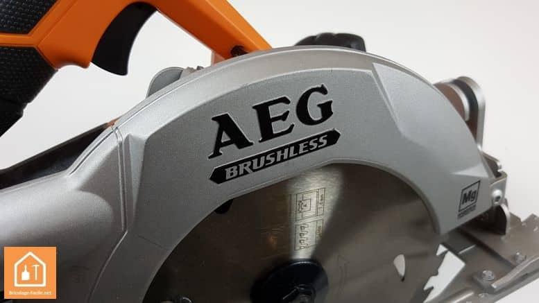 Scie circulaire sans fil BKS 18 BL de AEG - moteur Brushless