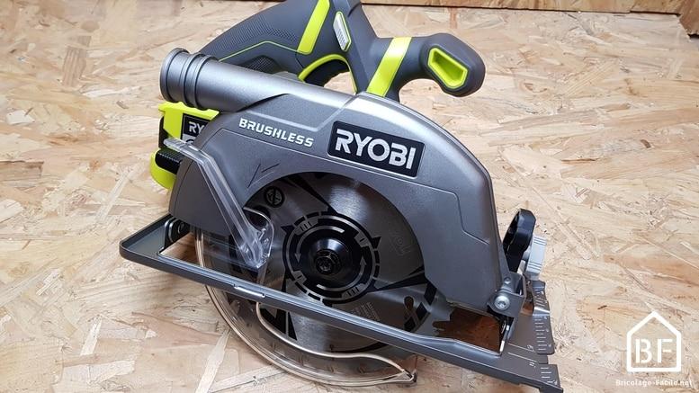scie circulaire Ryobi R18CS7 18V ONE+