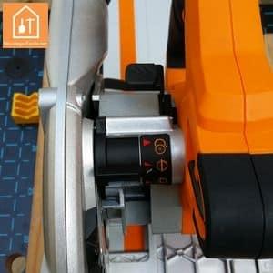 Scie circulaire plongeante Triton TTS1400