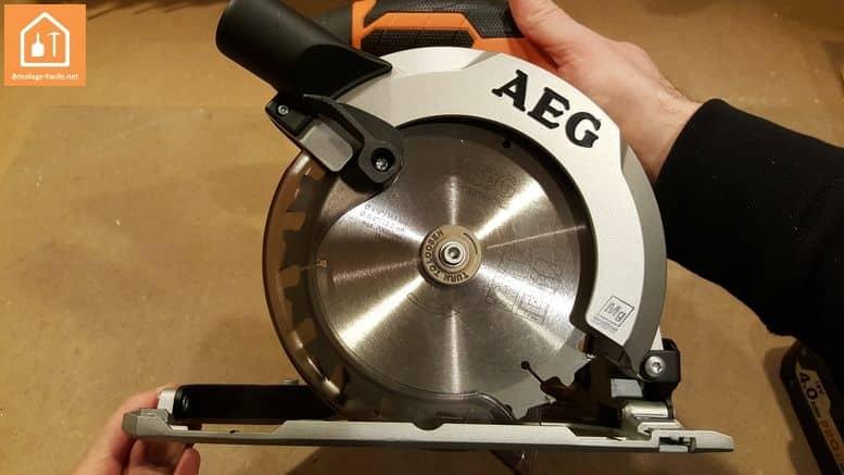 Scie circulaire sans fil BKS18 d'AEG