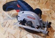 scie circulaire GKS 12V Bosch Pro