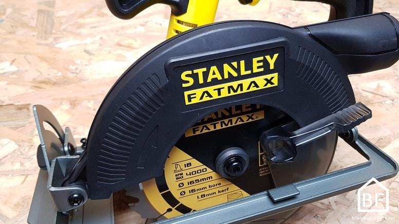 Stanley SCIE Circulaire 54MM 18V /Électrique sans fil 18 V
