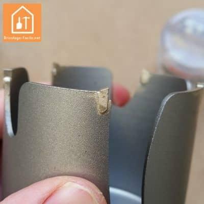 Test scies cloches ironcut de fischer bricolage facile for Scie cloche carrelage la rochelle