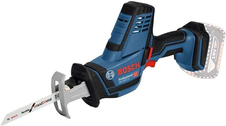 Le Scie Sabre Bosch Professional GSA 18 V-LI C