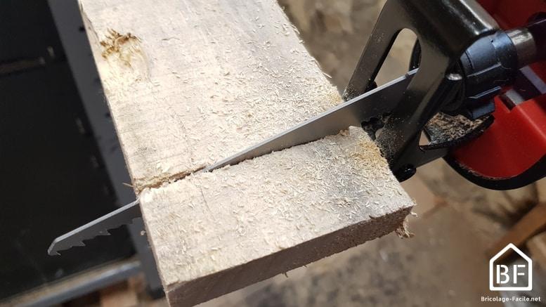 scie sabre einhell en utilisation