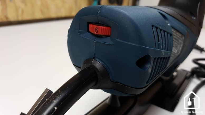 Scie sauteuse GST 90E de Bosch Professional - Réglage de la vitesse