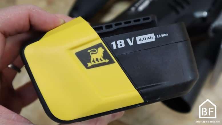 Batterie 18V Peugeot 18V