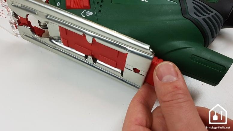 scie sauteuse PST 900 de Bosch - Boitier de rangement