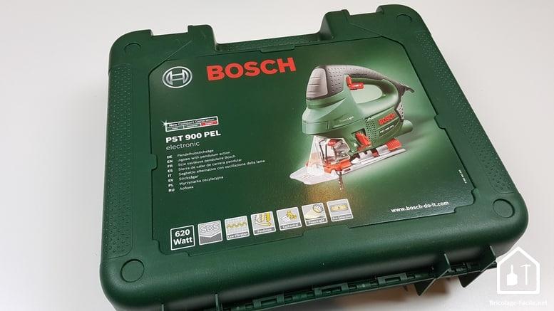 scie sauteuse PST 900 de Bosch - coffret