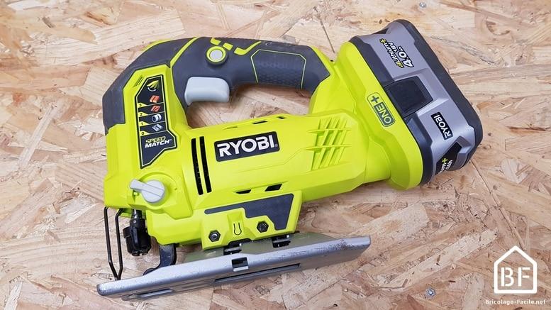 scie sauteuse Ryobi R18JS-0 18V ONE+
