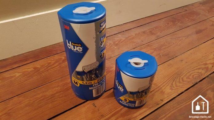 Les scotchs 2 en 1 de la gamme blue de 3M