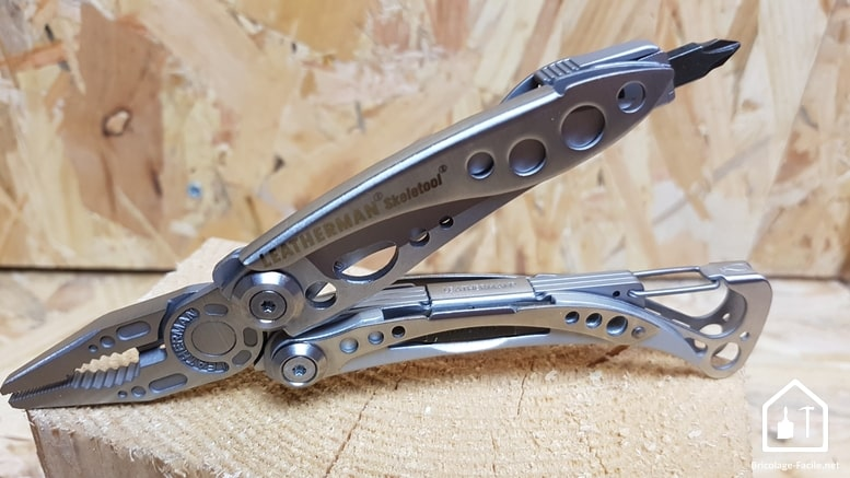 Leatherman skeletool test avis prix outils bricolage facile - Pince multifonction leatherman ...