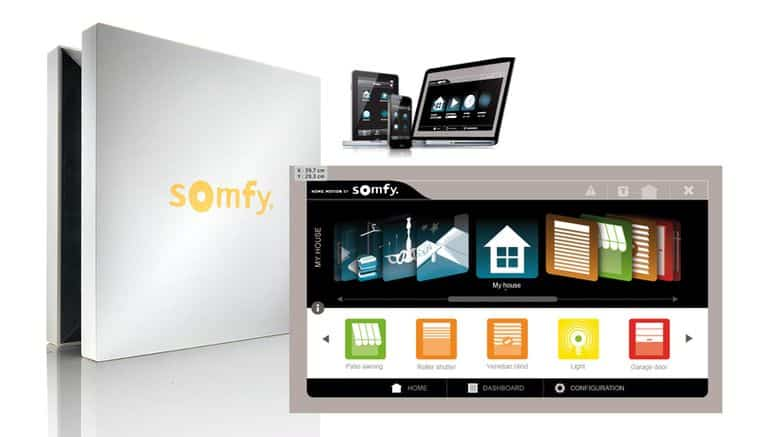 somfy test avis sur les produits domotiques bricolage facile. Black Bedroom Furniture Sets. Home Design Ideas
