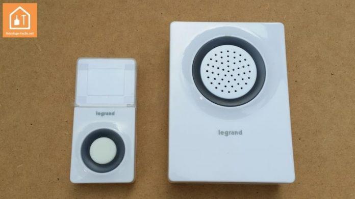 sonnette sans fil Legrand