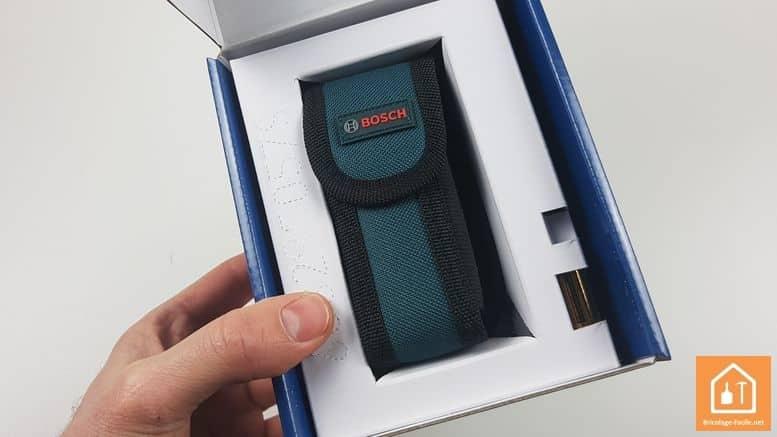 Télémètre laser GLM 40 de Bosch Professional - housse tissu