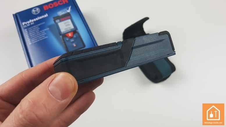Télémètre laser GLM 40 de Bosch Professional - gomme anti-choc