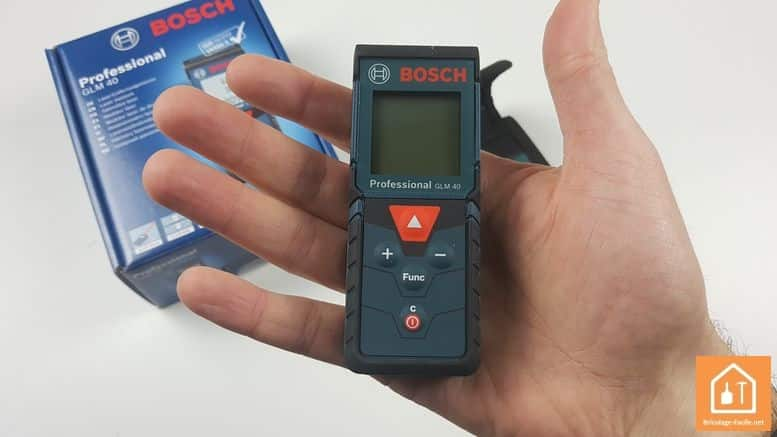 Télémètre laser GLM 40 de Bosch Professional - taille