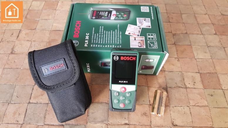 Télémètre laser PLR 30C de Bosch