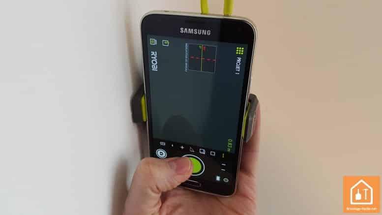 Télémètre laser Ryobi Phone Works