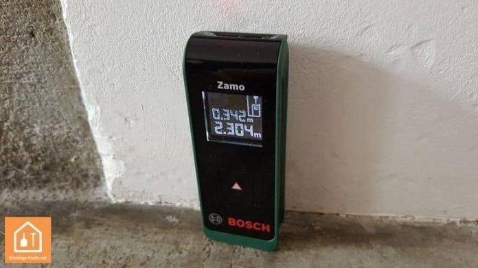 Télémètre laser Zamo de Bosch