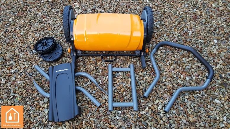 Tondeuse manuelle Fiskars StaySharp Plus