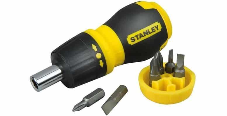 Petit tournevis à cliquet Stanley