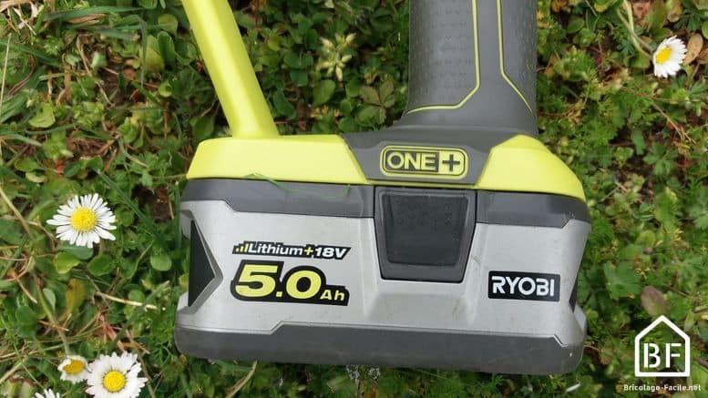 batterie 18V Ryobi