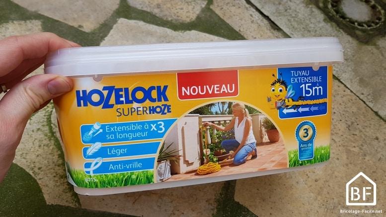 Tuyau d'arrosage extensible de Hozelock