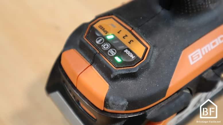 6 modes de fonctionnement de la visseuse à choc AEG BSS 18B6